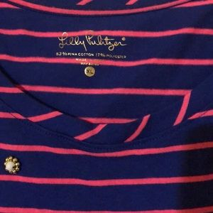 Lilly Pulitzer Tops - NWOT Lilly Pulitzer Kensington striped top XL